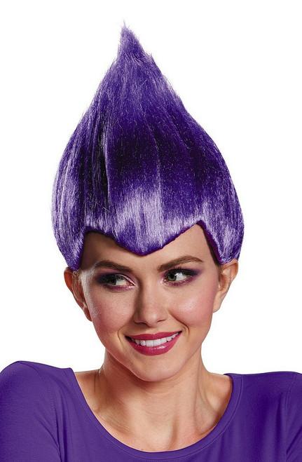 Trolls Violet Wacky perruque