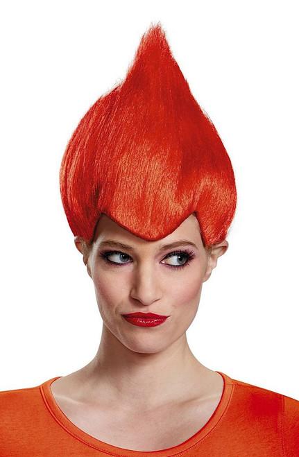 Trolls Red Wacky perruque