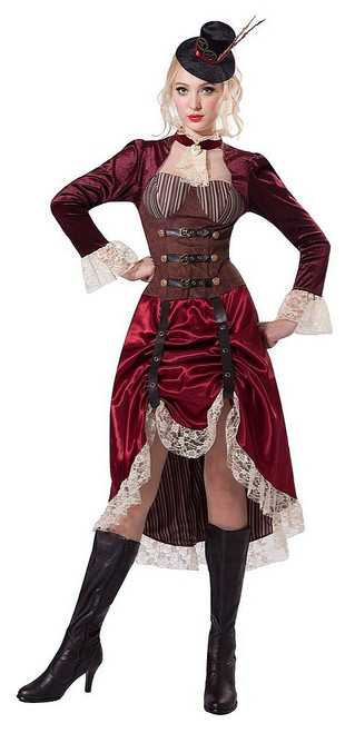Steampunk Mme femmes Costume