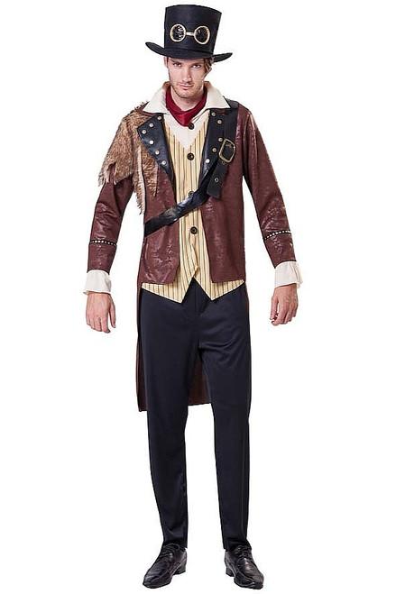 Steampunk Aventurier Hommes Costume