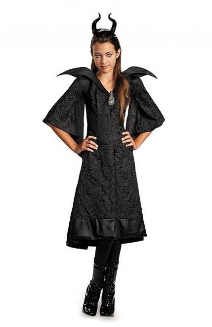 Maléfique Robe noire pour enfants