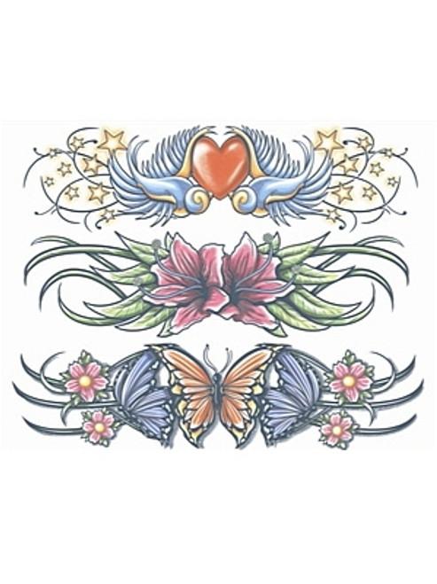 Les poussins creusent des bandes Tattoo