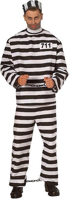 Costume Prisonnier Taille Plus