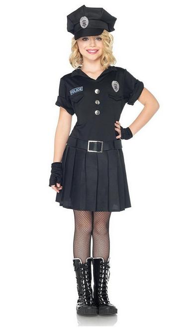 Costume de Police Jeu pour Fille