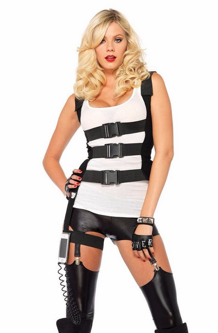 Femmes SWAT Kit Costume