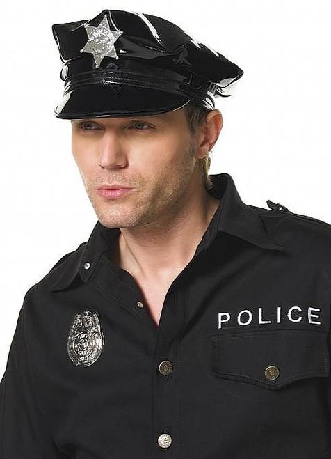 Vinyle Chapeau Cop hommes
