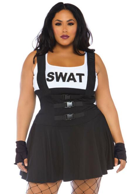 Costume de l'Agent du SWAT Grande Taille