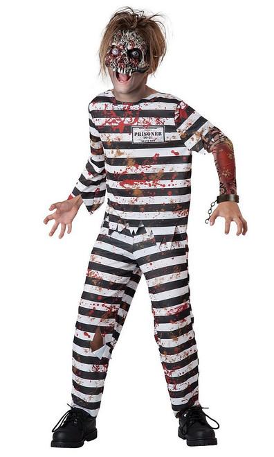 Costume du Prisonnier Terrifiant pour Enfant comprend