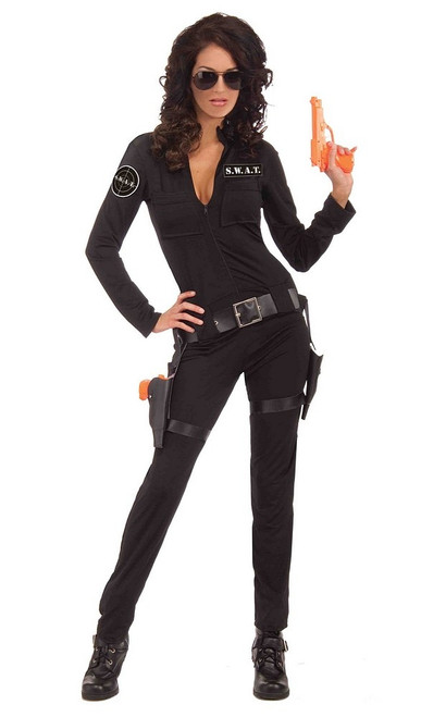 Costume SWAT de Femme Sexy d'Action
