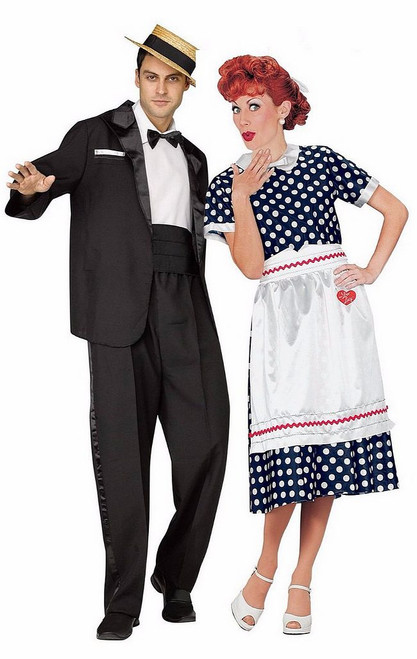 I Love Lucy Costume Couple