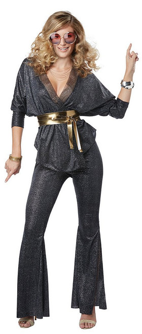 Costume de Disco Epoustouflant pour Femme