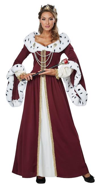 Costume de reine de Conte de Fées