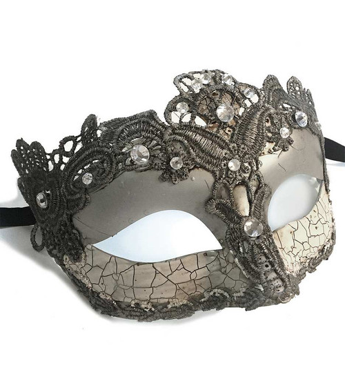 Masque Venitien Argenté