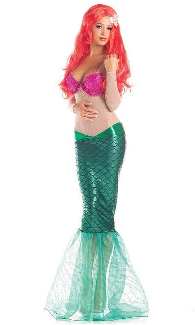 Costume de Gentille Sirène pour Adulte