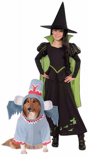 Méchante sorcière Costume avec animaux