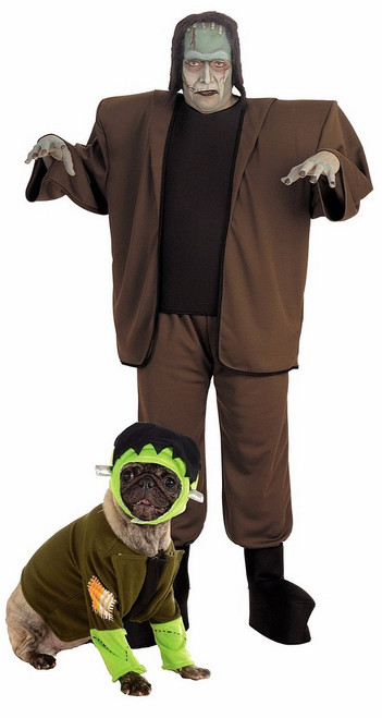 Frankenstein Costume avec animaux
