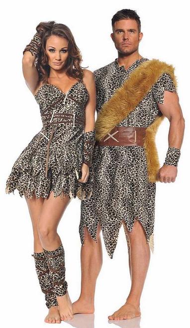 Costume de Couple Prehistorique