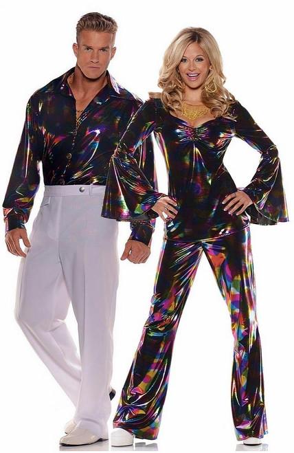 Costume de Couple Disco Annees 70