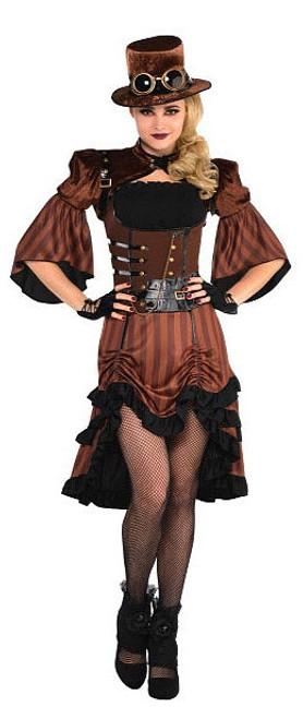 Costume Steampunk Rêve de Vapeur