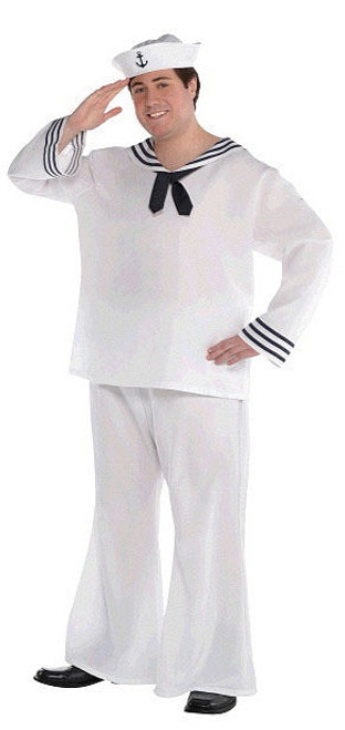 Costume de Marin Grande Taille