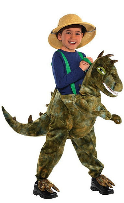 Costume de Dinosaure à Chevaucher