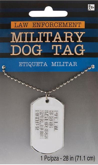 Plaque d%u2019Identification Militaire