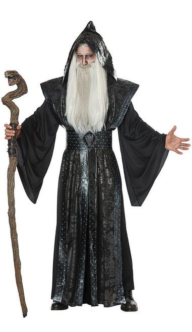 Costume de Sorcier Noir pour adulte