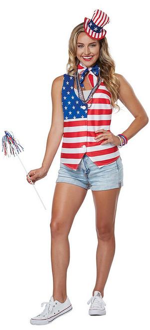Kit de Patriote Américaine pour Femme