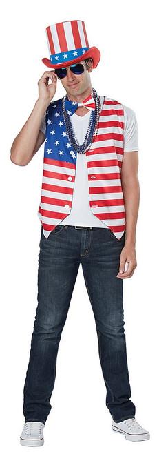 Kit de patriote américain pour homme