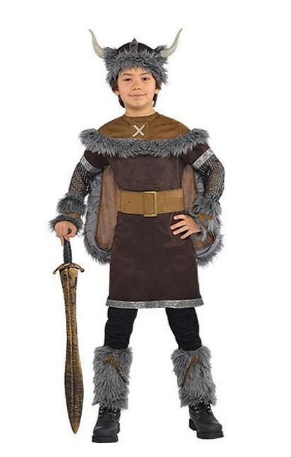 Guerrier Enfant Costume Viking