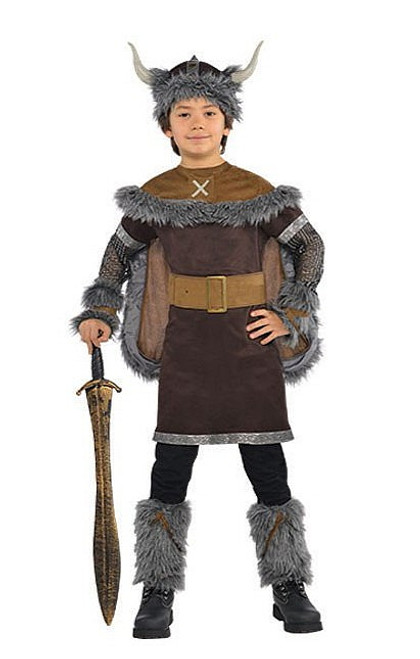 Guerrier Enfant Costume Viking