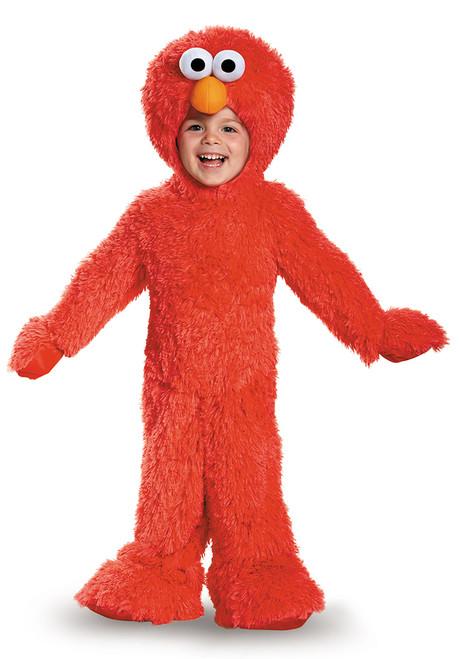 Elmo en peluche extra deluxe pour bambin