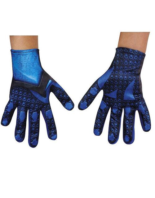 Gants de Power Ranger Bleu pour enfant