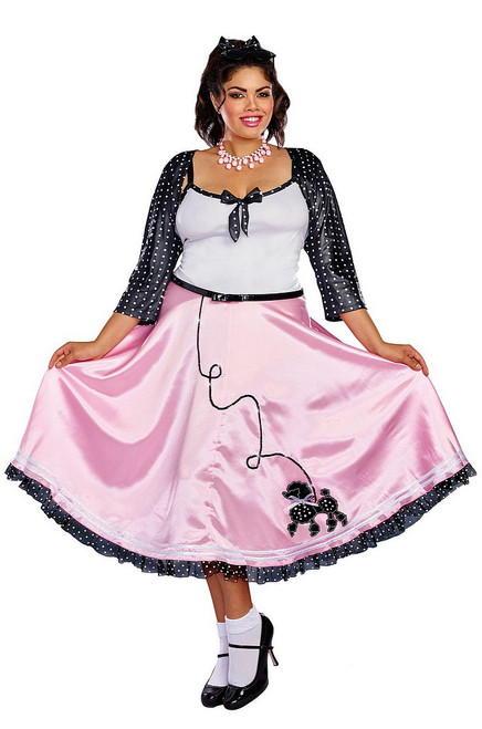 Costume des Années 50 Rock Around the Clock Grande Taille