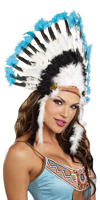 Coiffe Amérindienne