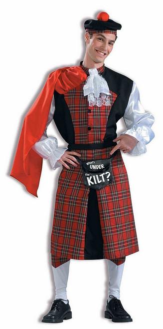 Costume « Qu'est-ce qui est sous le kilt? »