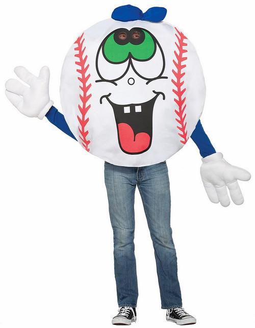 Costume de balle de baseball