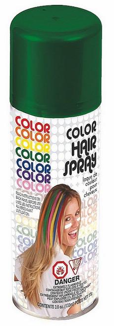 Laque Pour Cheveux Verte