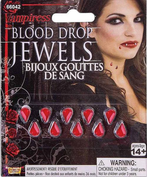 Bijoux Gouttes de Sang de Vampiress