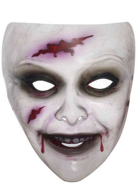 Masque de Zombie Transparent pour Femme