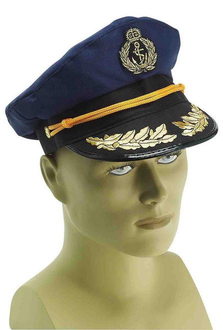 Casquette de Capitaine de la Marine Bleue