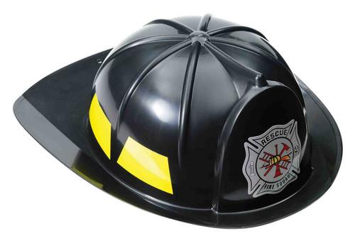 Casque de Pompier Noir pour Enfant