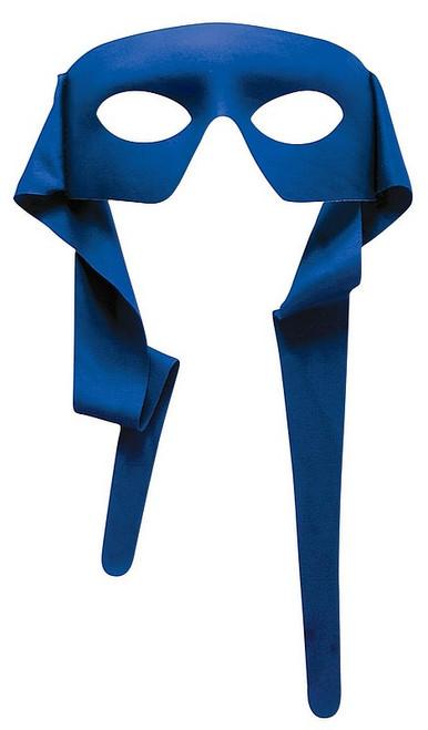 Grand Masque Bleu avec attaches back