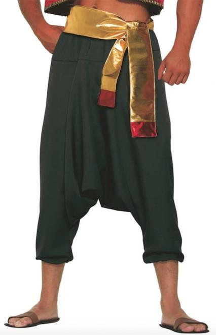 Pantalons Noirs d'Aladin Prince du Désert Z