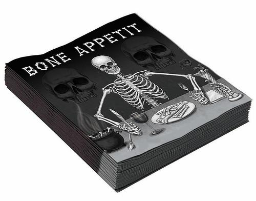 """Serviettes treize pouces """"Bone Appetit"""""""