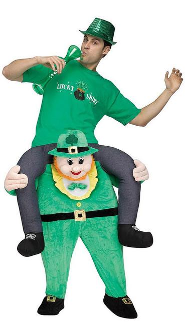 Costume de Porte Moi, Leprechaun pour Adulte