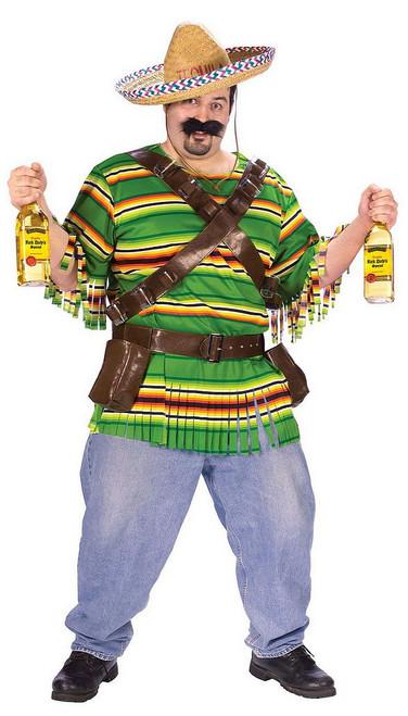 Costume de Buveur de Tequila Grande taille