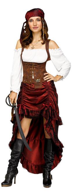 Costume de Reine des Pirates pour Adultes