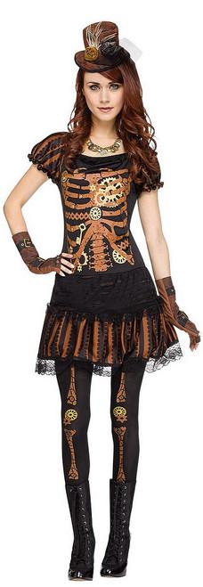 Costume de Skele-Punk pour Adulte