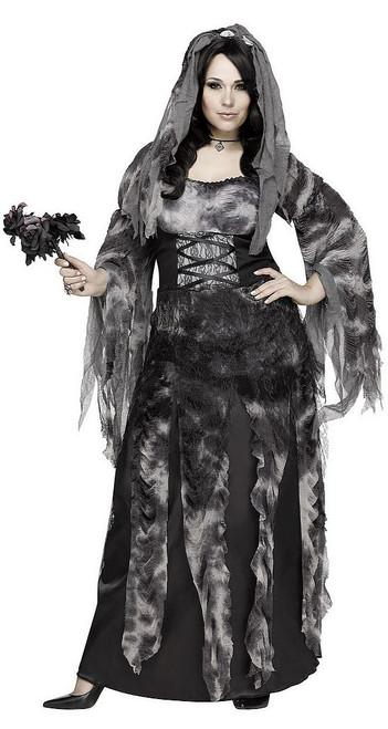 Costume de Mariée du Cimetière Grande Taille